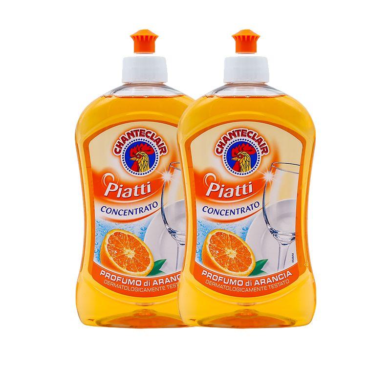 公鸡头 洗洁精(甜橙味)500mlx2