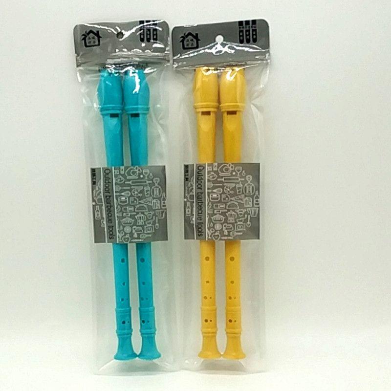 袋装2pcs八孔竖笛 高音直笛儿童竖笛 学生乐器 初学8孔笛子批发
