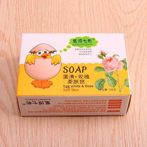 蛋清+玫瑰柔肤皂