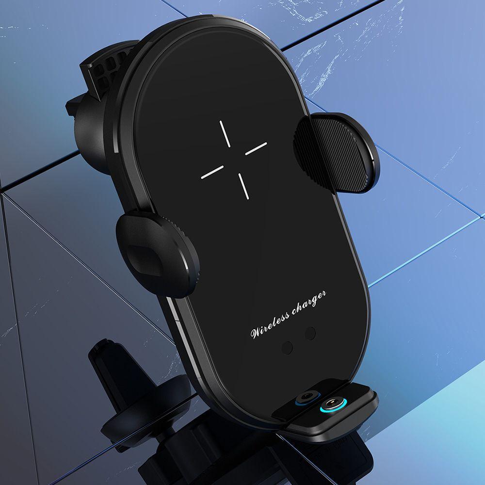 新款手机通用磁吸V30S 车载支架无线充电器10W智能红外感应无线充