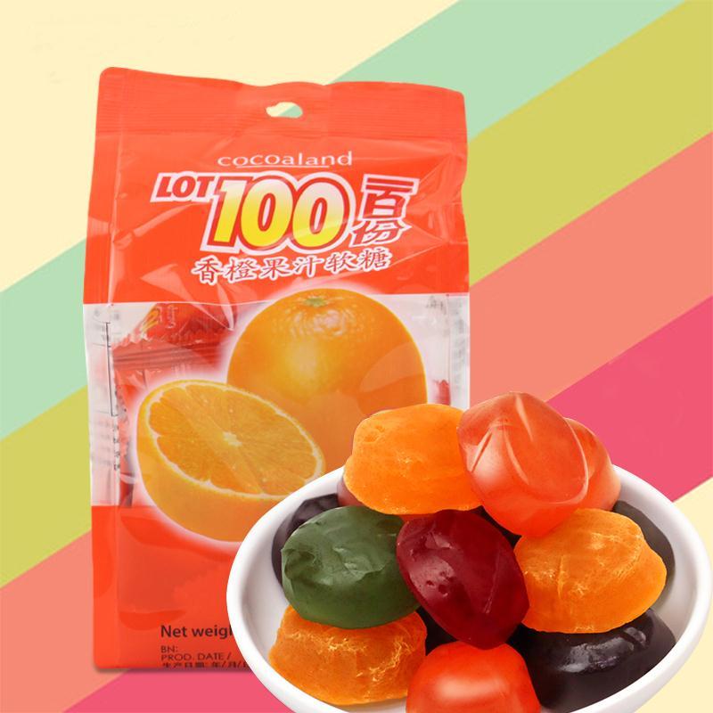 一百份果汁软糖  口味随机-303406