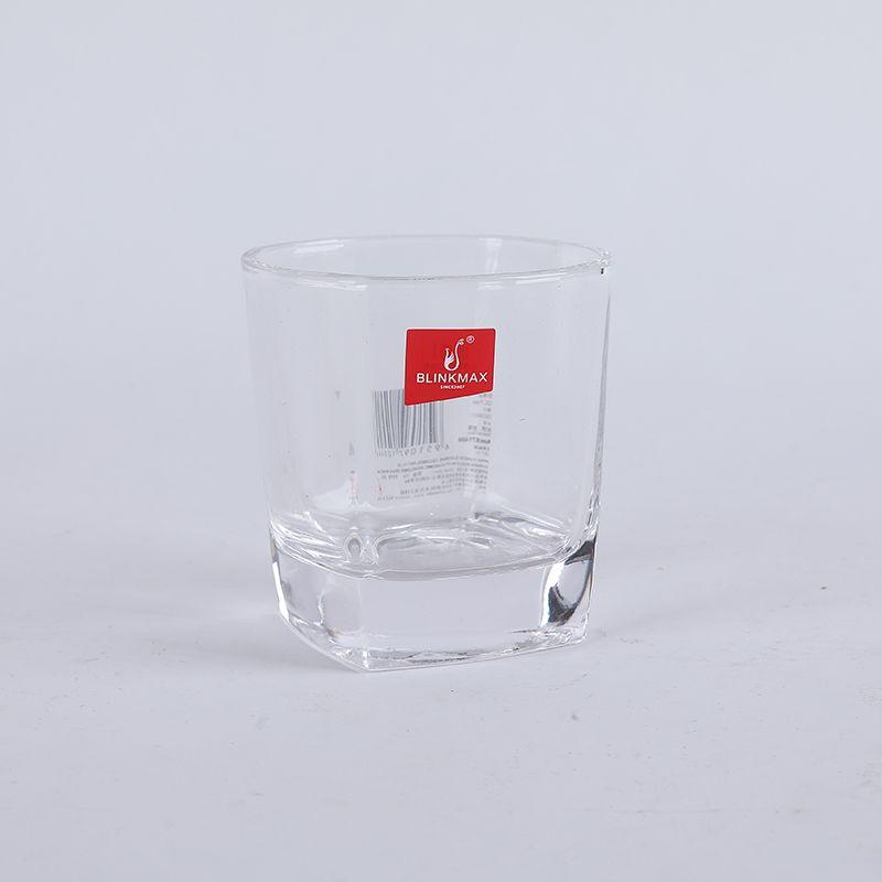 义乌好货 丽尊矮款小号四方威士忌杯170ML/65535