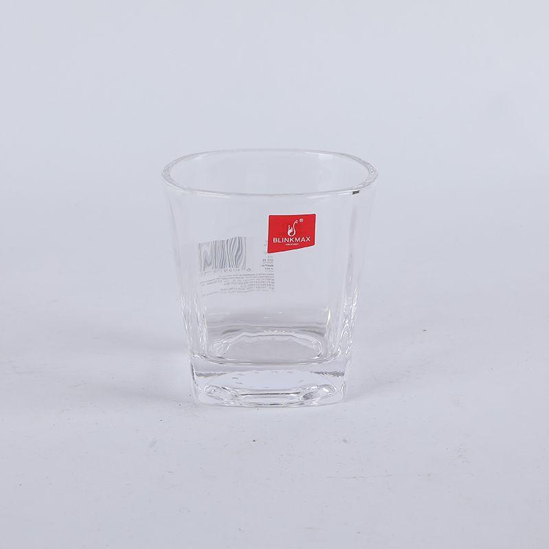 义乌好货 丽尊矮款大号四方威士忌杯250ML/65535