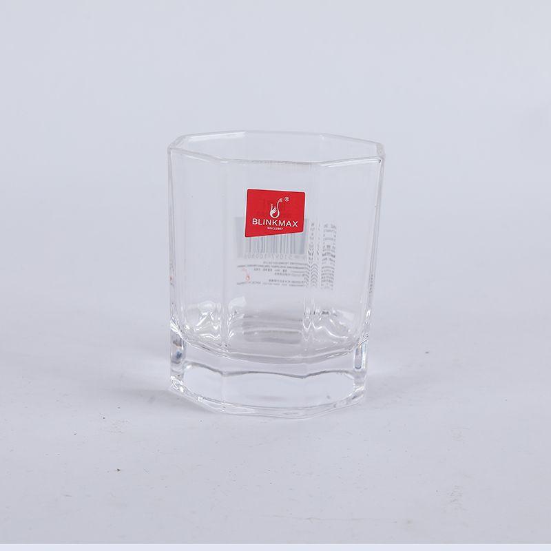 义乌好货 丽尊矮款小号八角威士忌杯180ML/65535