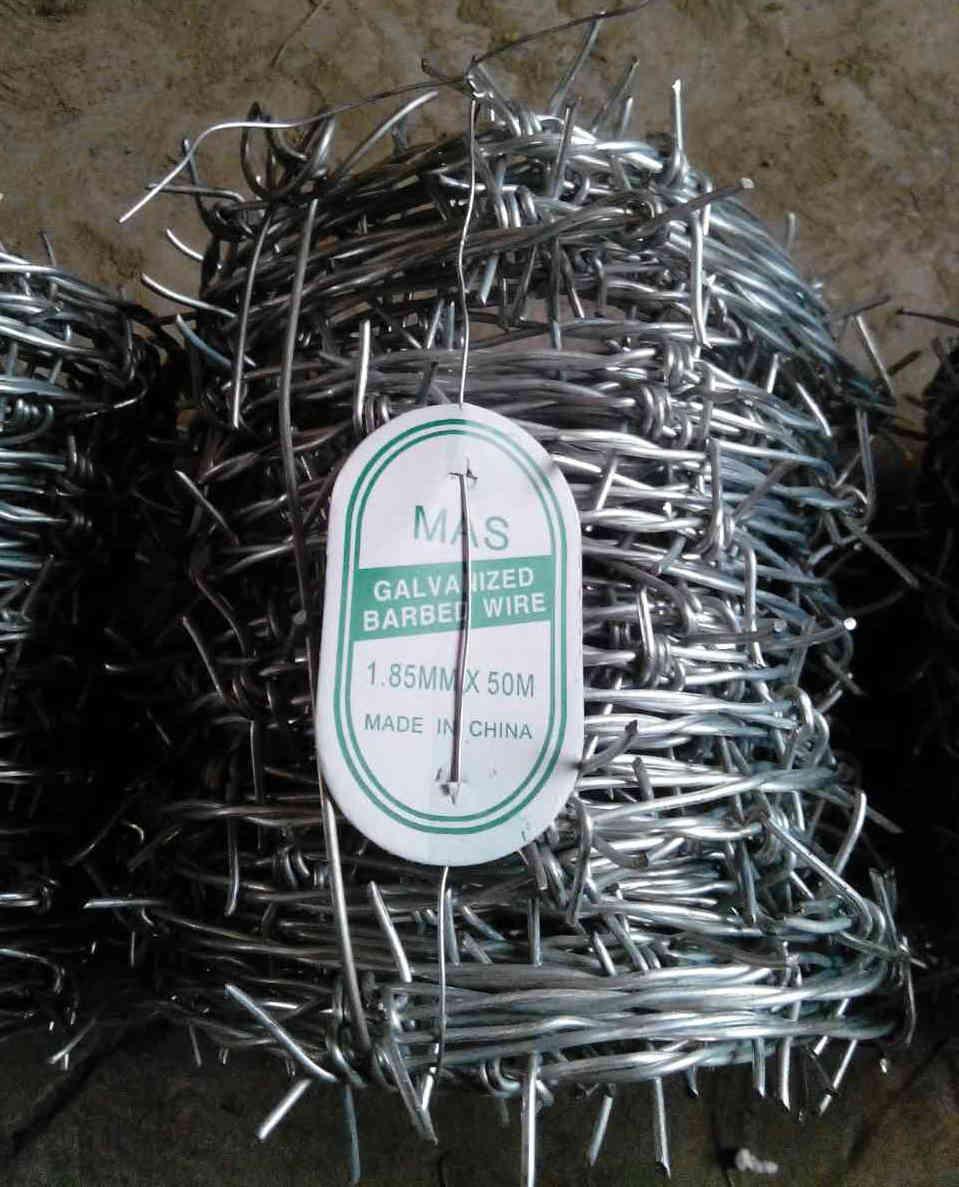 厂家直销 、 铁丝刺绳 刺线刺丝 隔离线电网