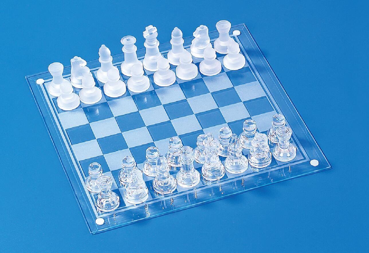 大号玻璃国际象棋35*35