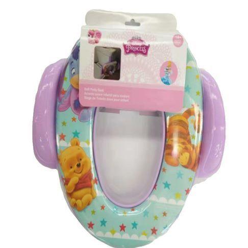 新品带柄儿童马桶垫 可拆卸硅胶尿档 有柄坐便器垫软垫 送挂钩