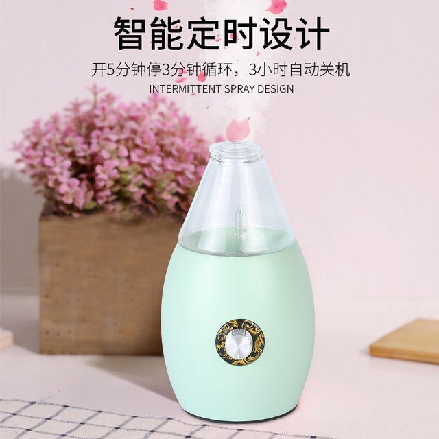 实木喷漆纯精油扩香仪 冷喷香薰机加湿器室内空气净化助眠扩香机