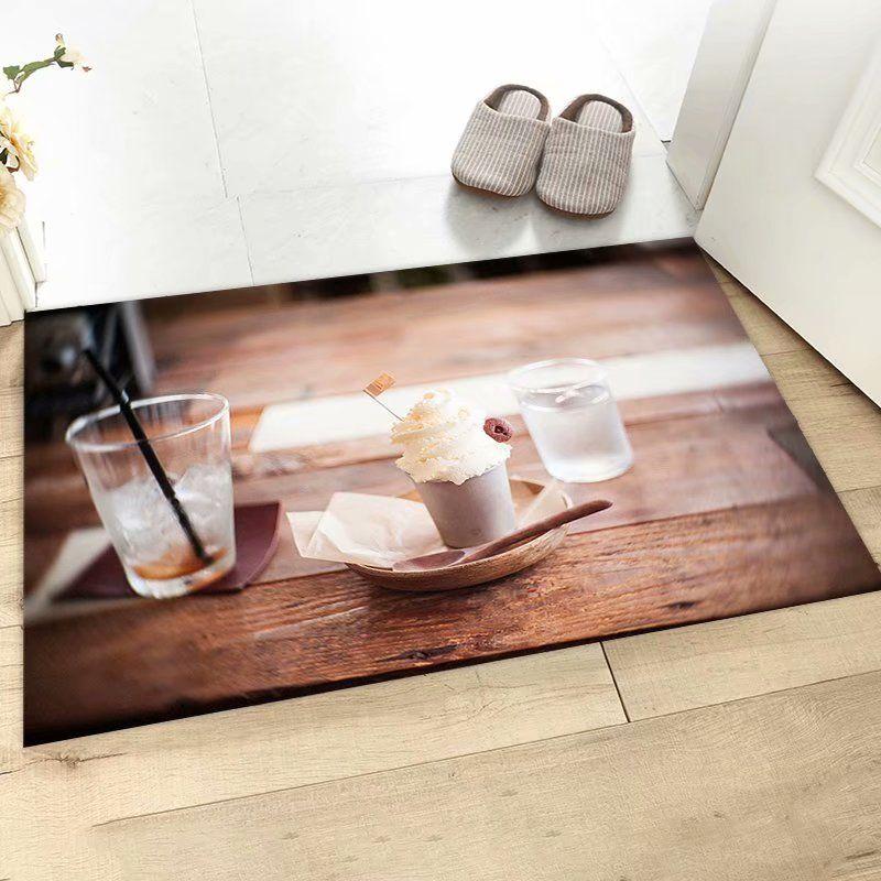 3D印花门垫 客厅地毯卧室家用现代简约地垫