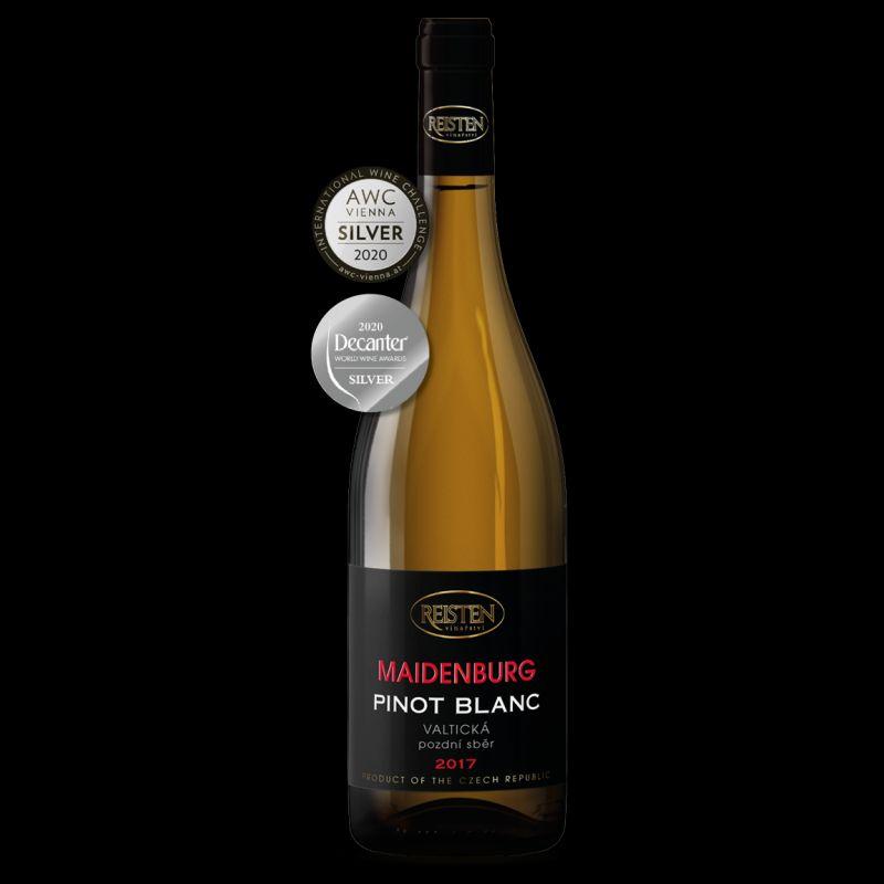 捷克白葡萄酒REISTEN Pinot Blanc Dry 2017