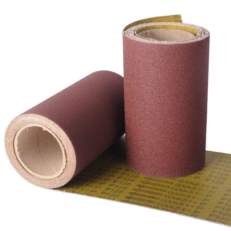 GXK51砂布卷红砂黄布金属抛光打磨机用内销外贸定制现货工具配件