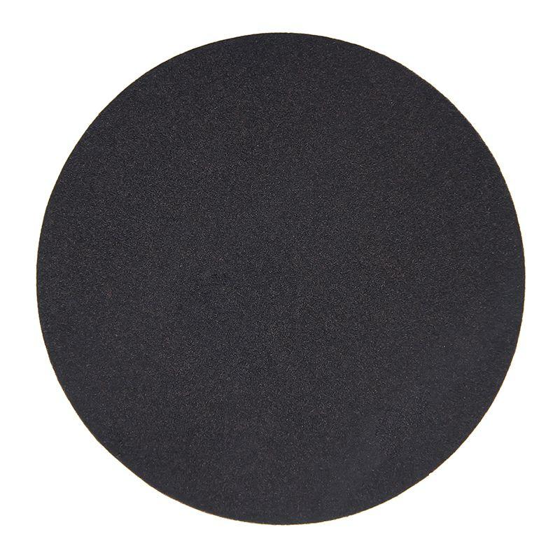 拉绒片拉绒砂纸黑砂碳化硅砂纸粘片砂纸片砂纸盘背绒砂纸木头石材玻璃