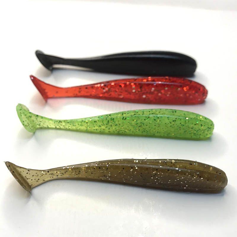 动乐健软饵T尾鱼假饵SWMP2.4软虫鲈鱼鳜鱼饵路亚垂钓溪流池塘