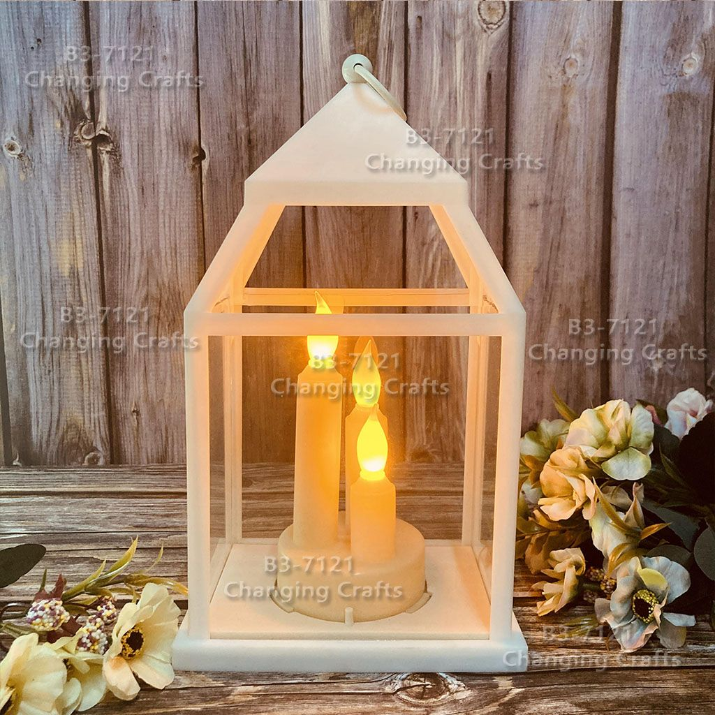 新款装饰工艺灯笼eid mubarak开斋月风灯ramadan摆件跨境专供万圣节圣诞节装饰RKZX041