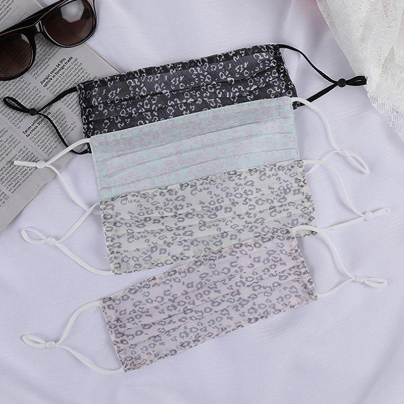 2021年新款小狮子瑞恩成人防晒可水洗可调节松紧纯棉口罩厂家直销