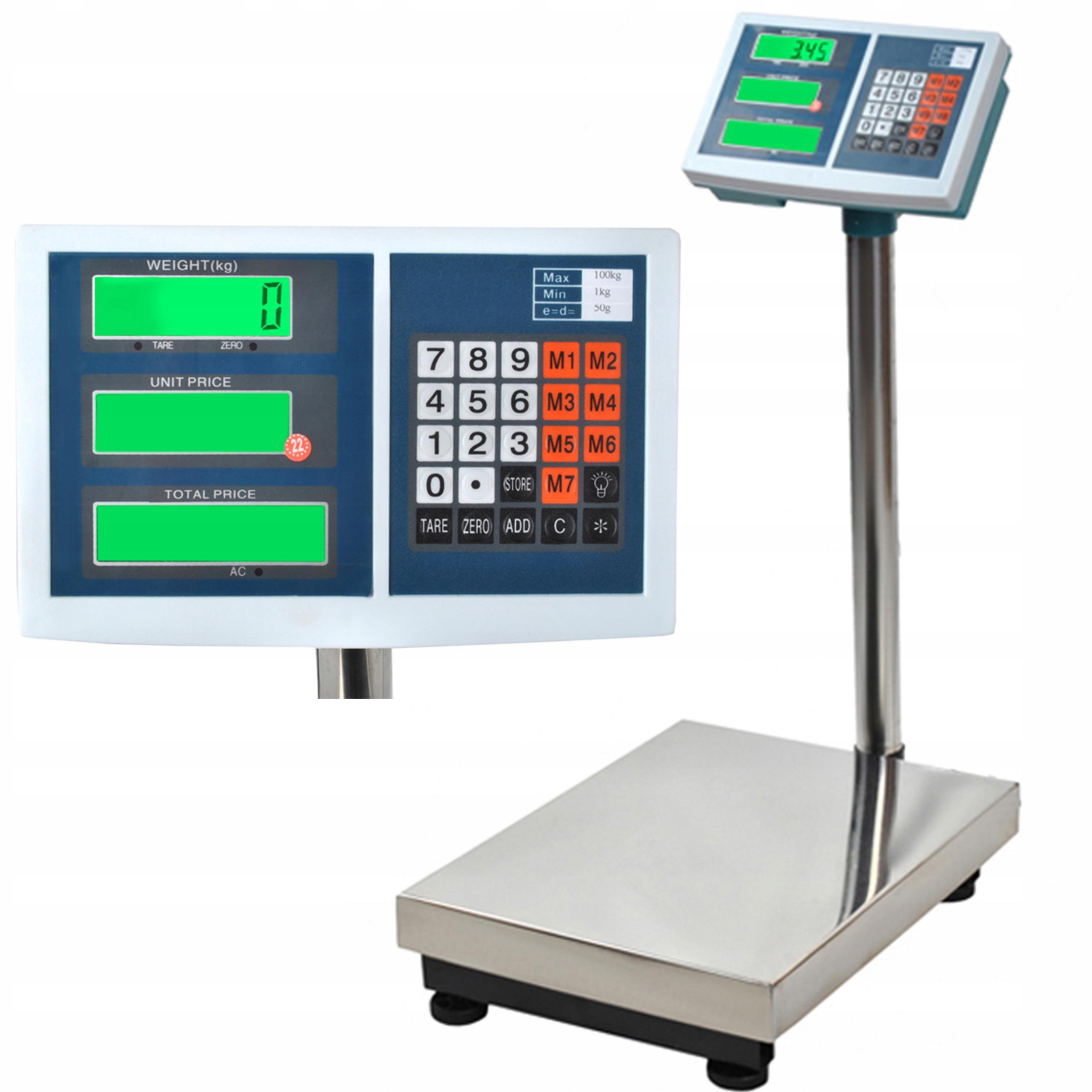 100kg30*40台秤电子秤计价秤