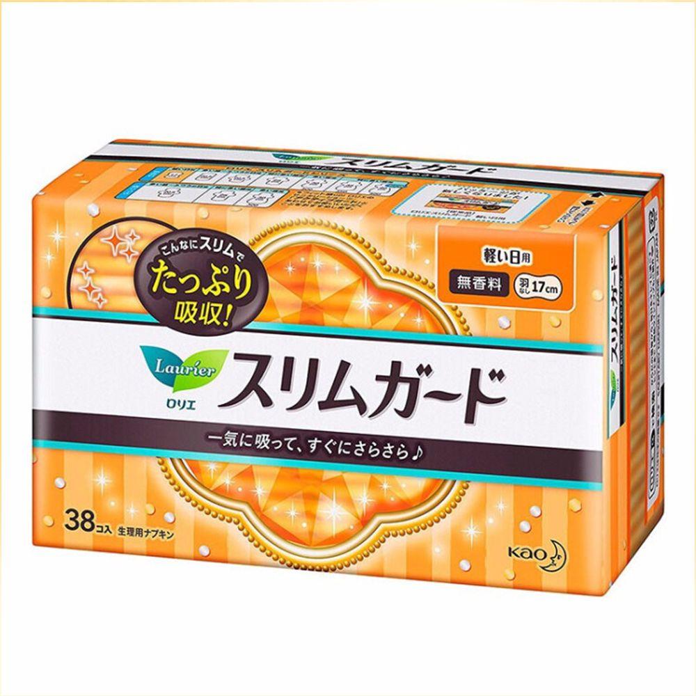 花王乐而雅卫生巾S系列日17cm*38片