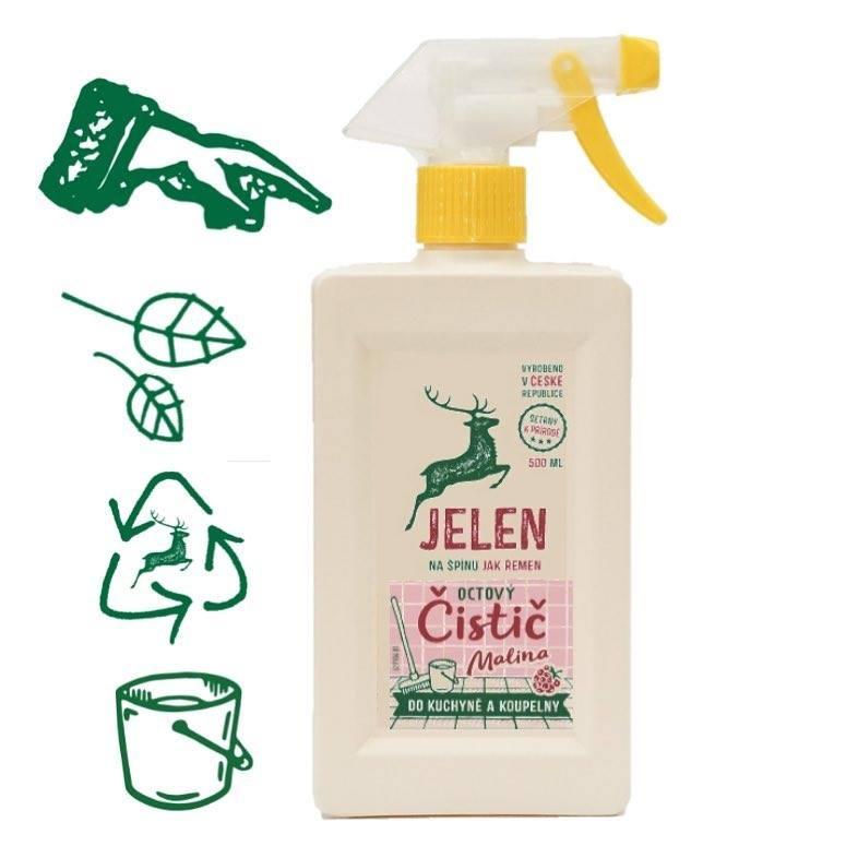 捷克鹿头牌JELEN厨房清洁剂特添覆盆子500 ml