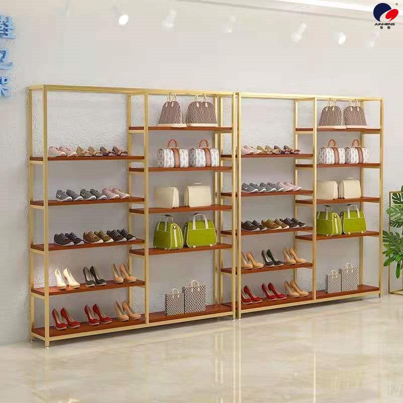 精品鞋货架鞋包展示架服装店鞋包架鞋店鞋架包店包架