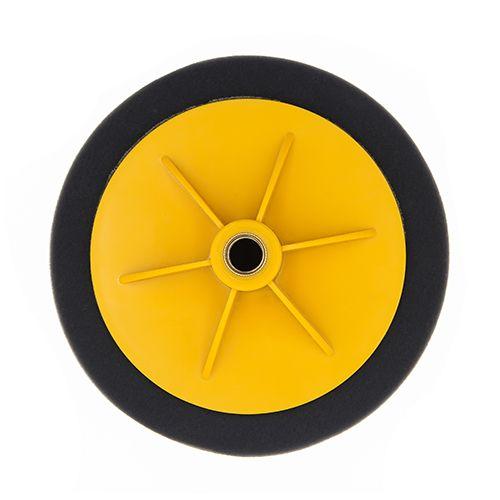 汽车抛光海绵轮 打蜡机抛光盘海绵轮抛光棉 角磨机抛光机轮盘
