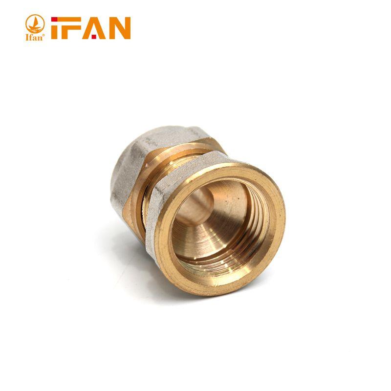 """IFAN 01款铜接头 Female Socket S32×1""""F"""