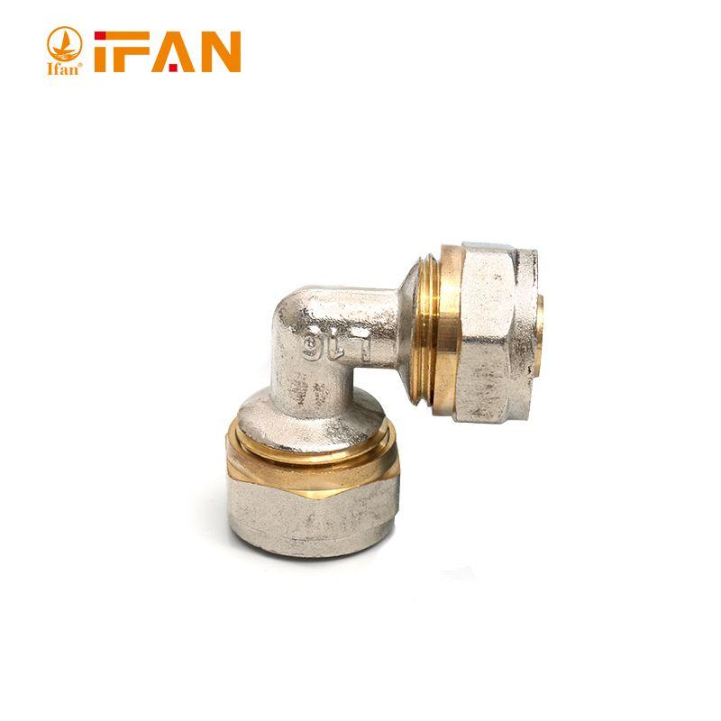 IFAN 01款铜接头 Eblow L25