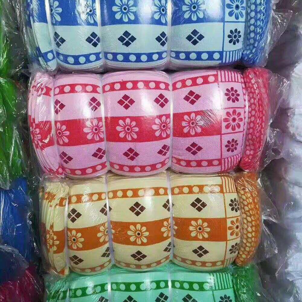 14支印花毛巾
