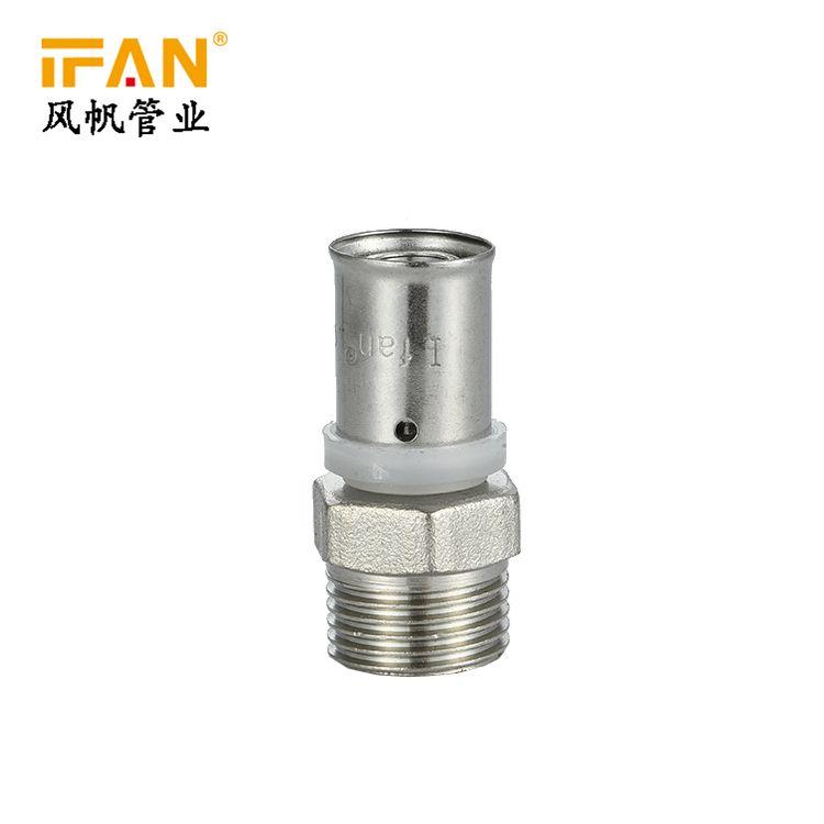 IFAN 卡压管件 Male Socket S16×1/2M