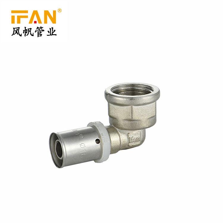 IFAN 卡压管件 Female Elbow L20×1/2F
