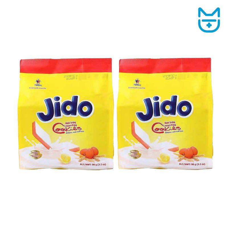 Jido牌鸡蛋面包干(鸡蛋味)90g*2