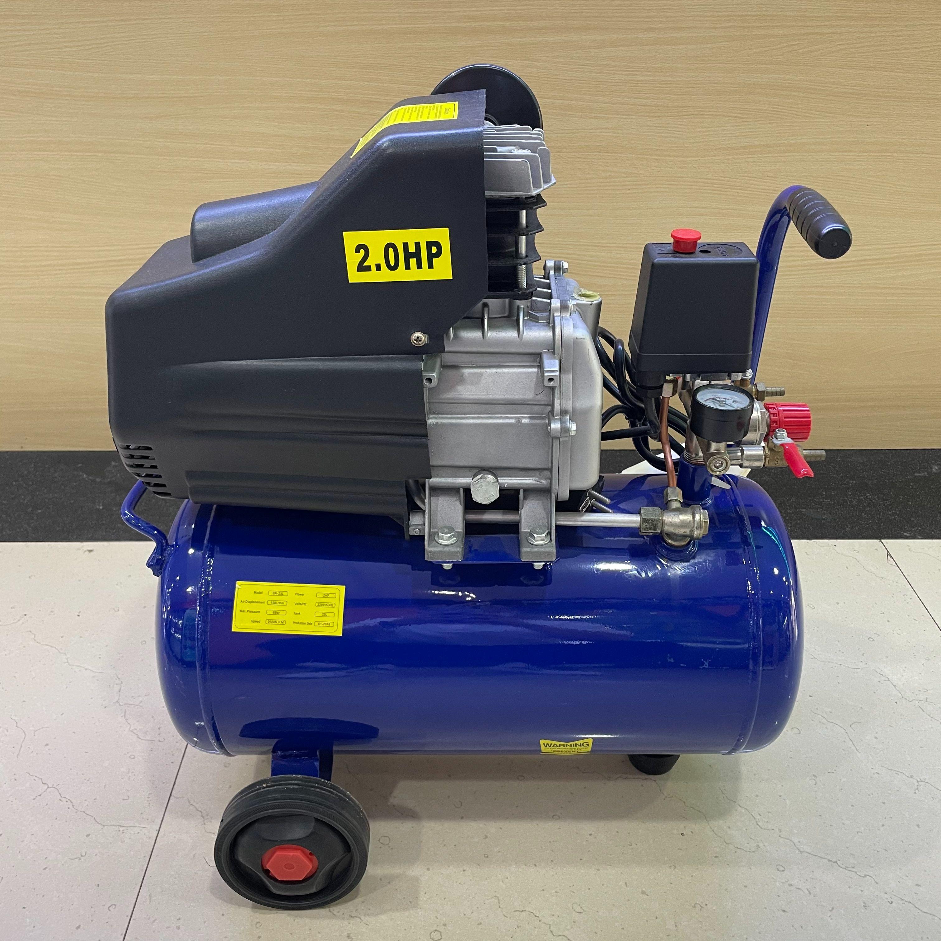 辉腾厂家外贸直销 便携小空压机/小气泵/直联机空气压缩机 25L 50L 100L