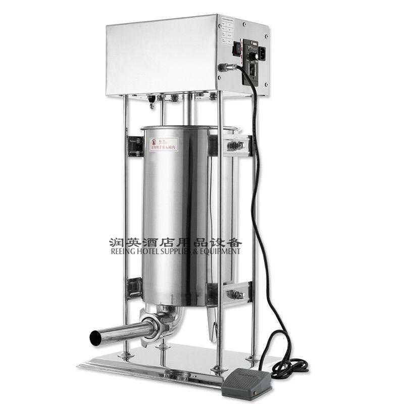 商用电动不锈钢灌肠机 灌热狗机 自动灌腊肠机 家用罐香肠机