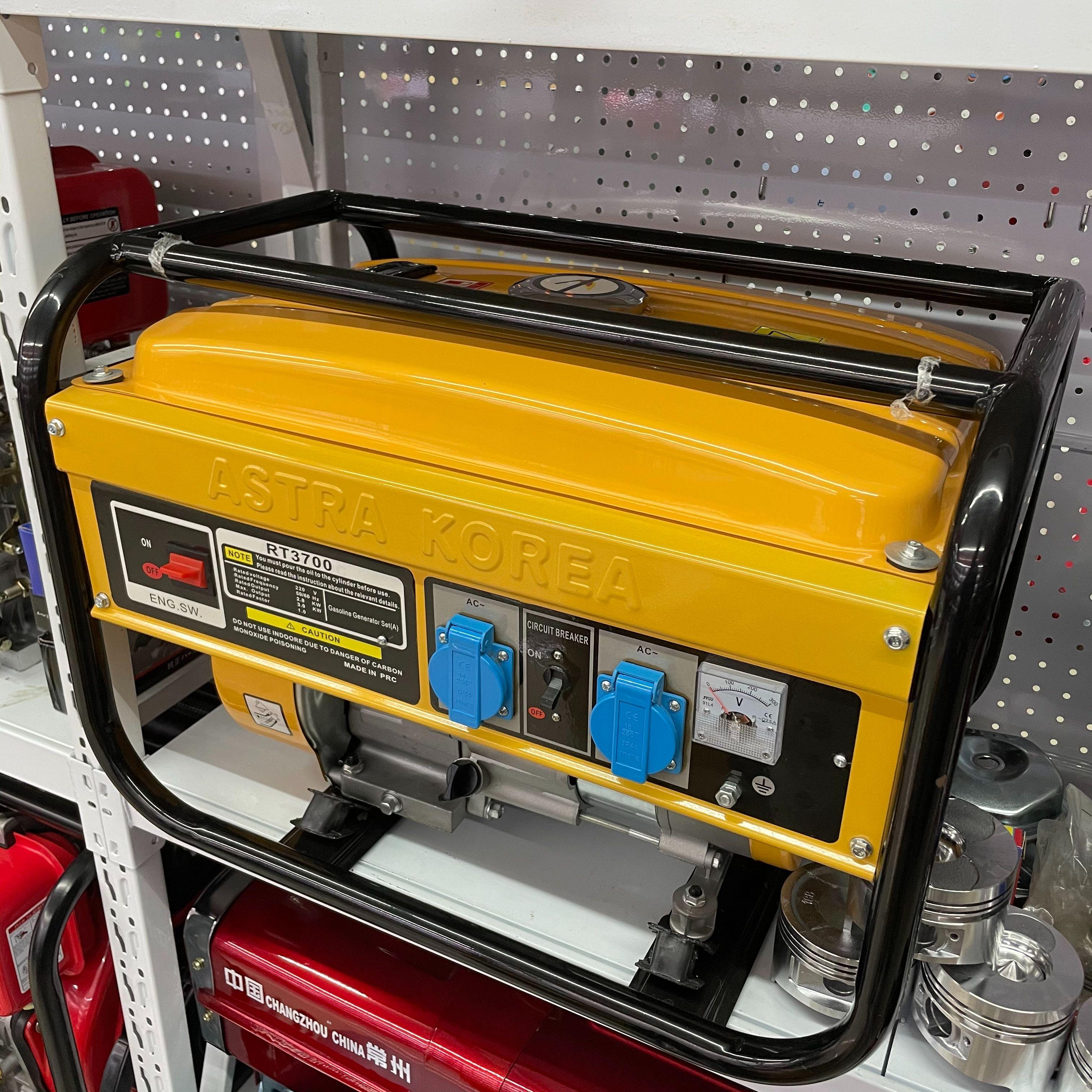 辉腾厂家外贸直销 小型3kw汽油发电机便携式家用发电机 大功率单相220v多用途发电机