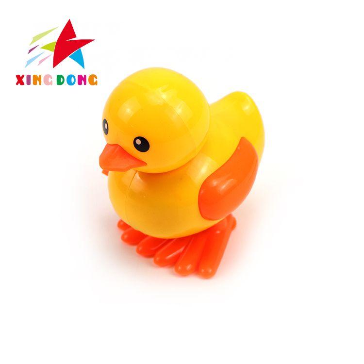 儿童玩具  上链跳动小黄鸭