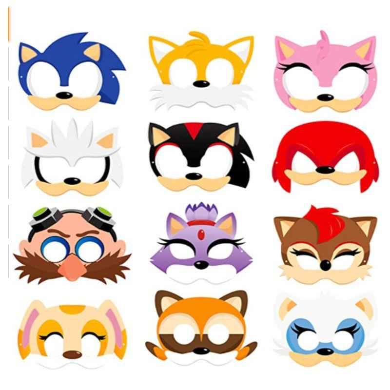 面具玩具 索尼克
