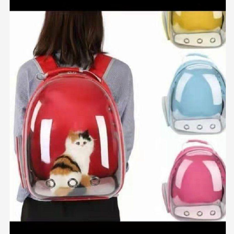 透明宠物航空箱背包