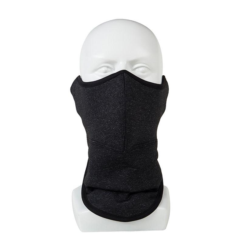 厂家直销爆款保暖蒙面口罩骑行防风防尘摇粒绒冬季透气面罩3