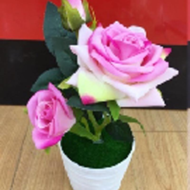 家用仿真摆件玫瑰花