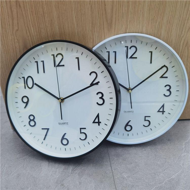 12寸立体数字现代装饰挂钟多色多数字工艺设计挂钟热销
