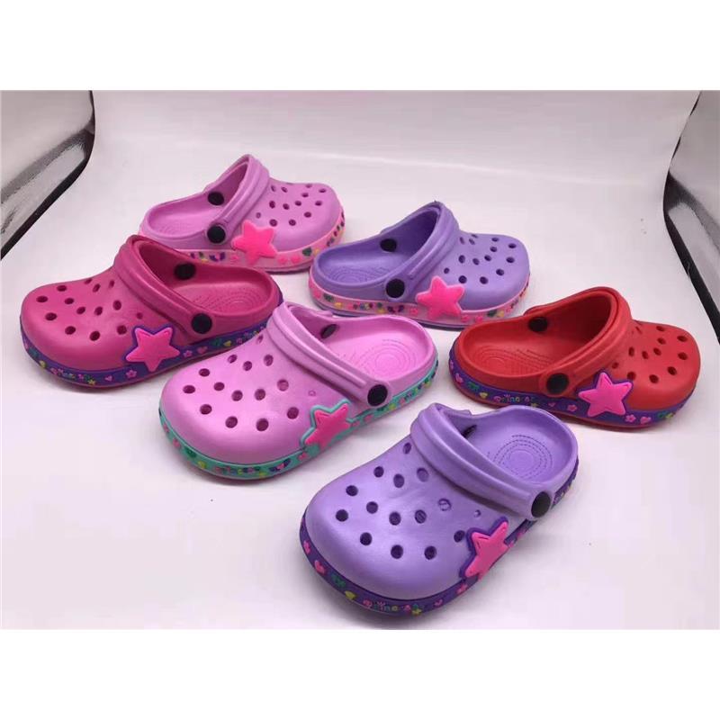 儿童 EVA花园鞋