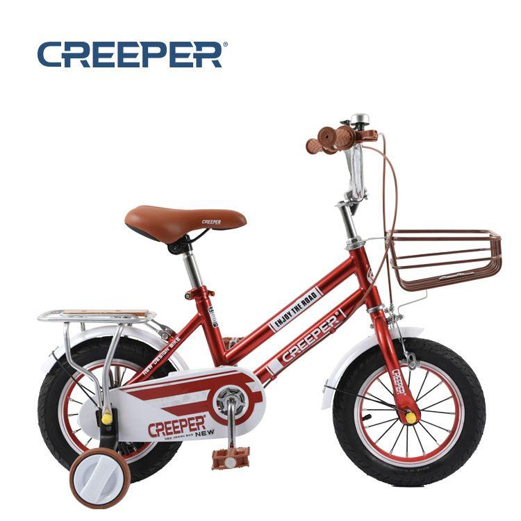 儿童自行车12#14#16# 双铁管加固车架  休闲款宝宝脚踏车厂家批发