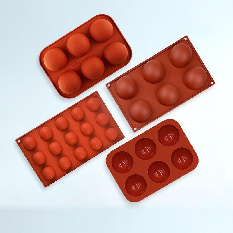 烘焙工具钵仔巧克力模具巧克力模硅胶蛋糕模具