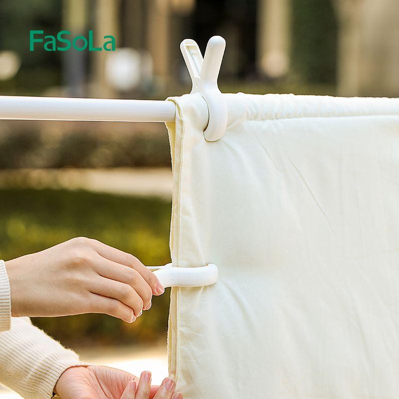 晒被子大夹子棉被夹大号防风晾衣架强力固定衣服的晾晒家用塑料凉