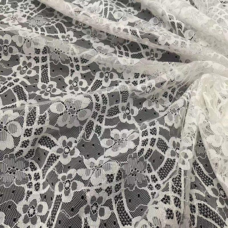 花朵蕾丝布料镂空花边辅料时装婚纱礼服吊带衫连衣裙背景diy面料