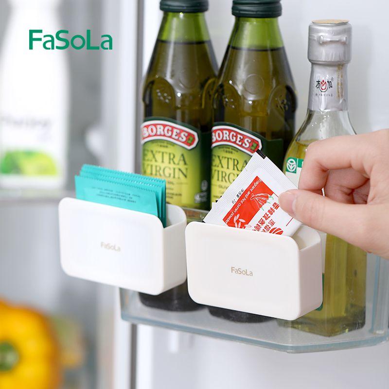 冰箱酱包收纳盒挂架醋芥末调料包迷你小号文具整理盒小物件置物架