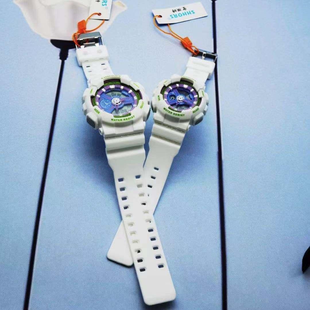 电子手表男女初高小学生潮流多功能儿童运动电子手表G-Shock