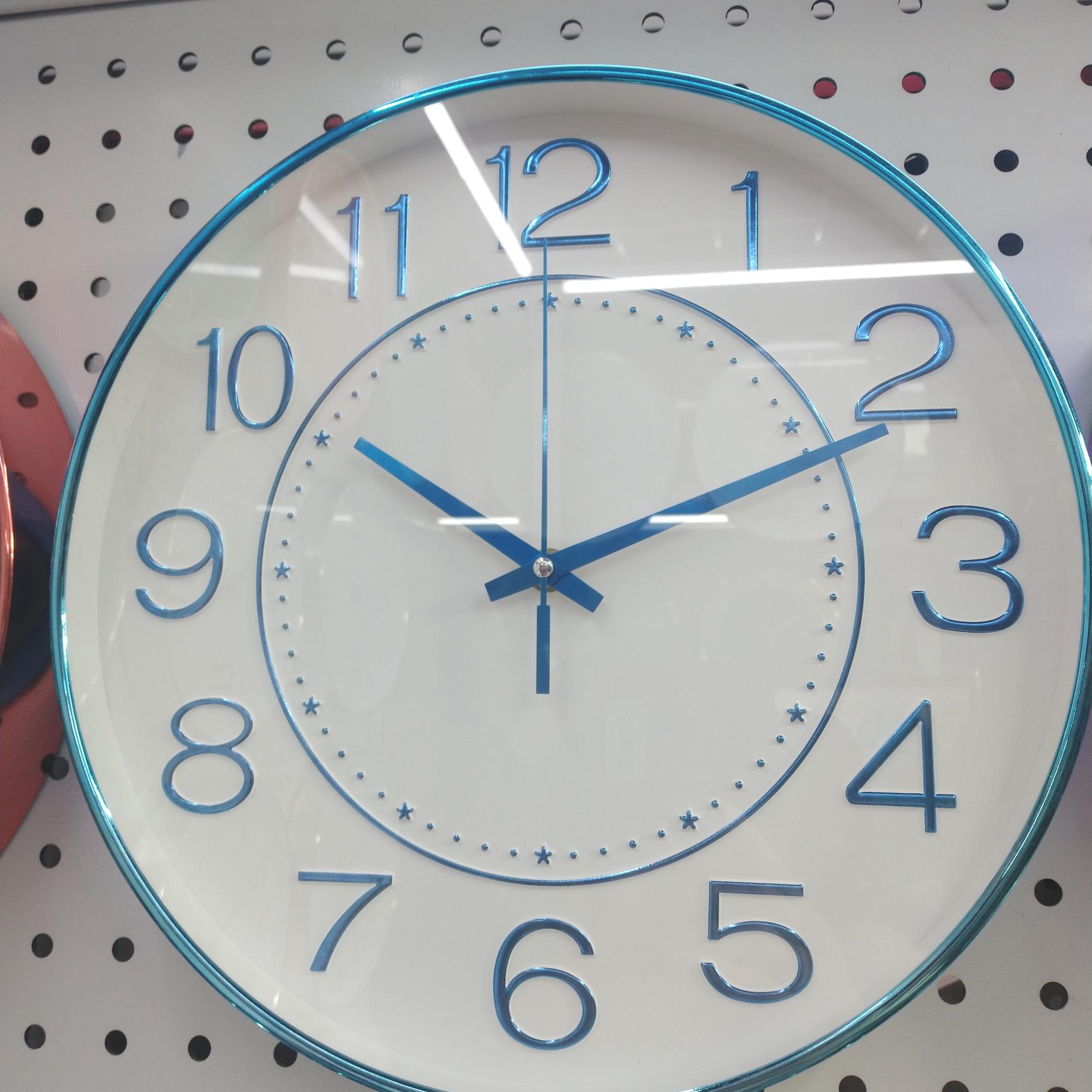 七彩电镀新颖工艺钟