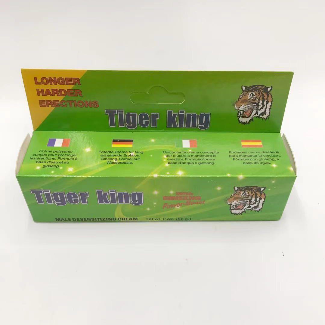 tiger king3虎王助勃增大膏外用软膏成人用品外贸批发