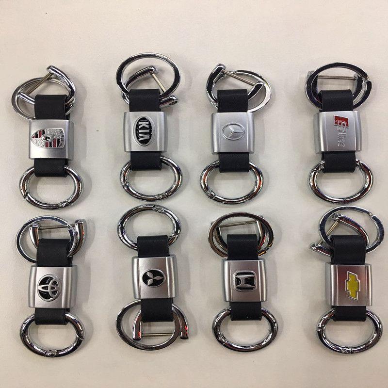 汽车新款双环带标钥匙扣工厂直销款1