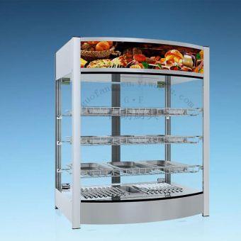热柜系列食品保温柜商用小型台式保温机加热恒温展示柜炸鸡 汉堡